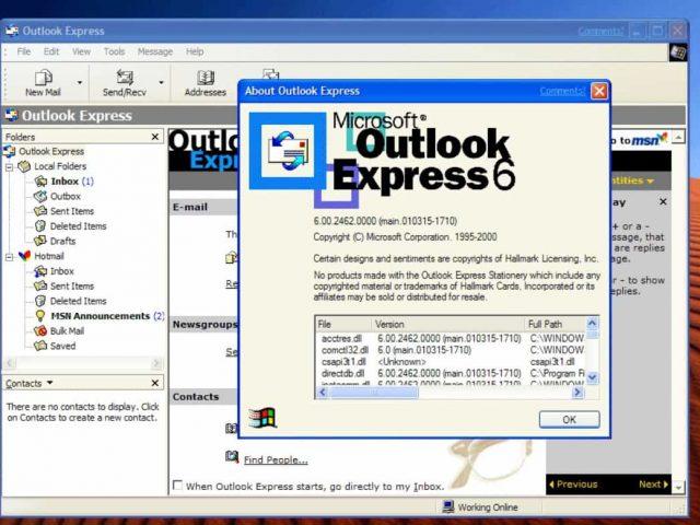 Masalah Outlook Express dalam Pengiriman Surat